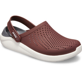 Crocs LiteRide Clogs, burgundy/white